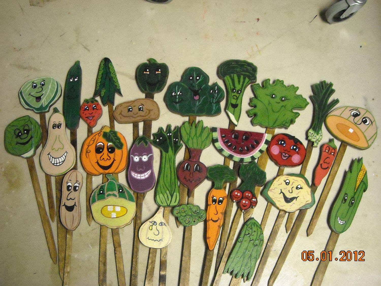 Vegetable Garden Stakes Decorative