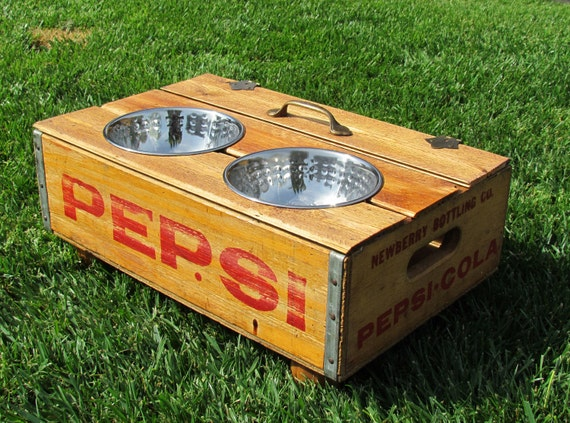 Reserved for Ladybug Pepsi crate feeder custom order