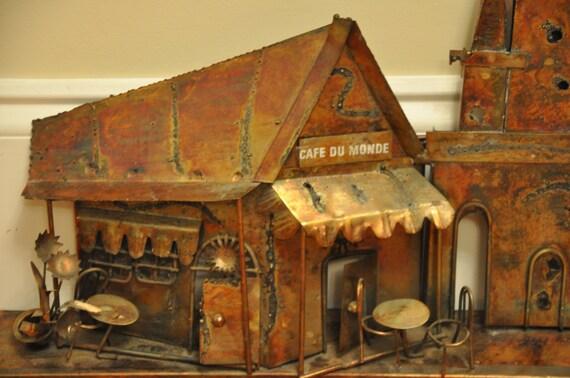 Vintage Copper/Tin Wall Art - Reserved for Lindsi