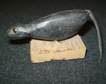 Antique Mouse Decoy