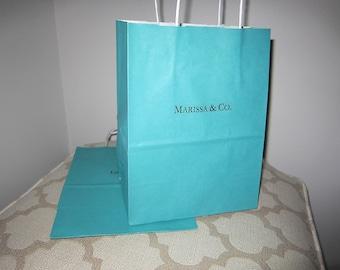 Robin's Egg Blue Gift Bag