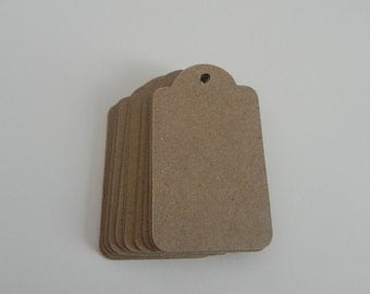 Brown Gift Tags