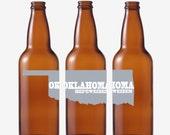 50 Oklahoma Beer Bottle Labels -- Choose Your Brew