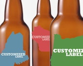 50 Customized Beer Bottle Labels