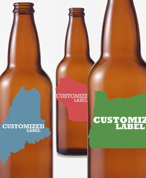 24 Customized Beer Bottle Labels