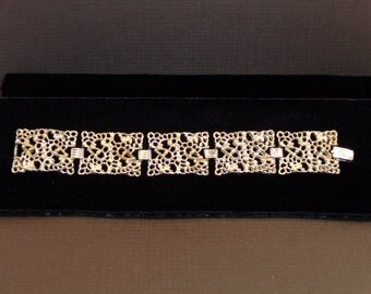 Vintage Sarah Coventry Silver-Tone Bracelet