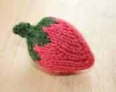 Novelty Knit Strawberry Pincushion