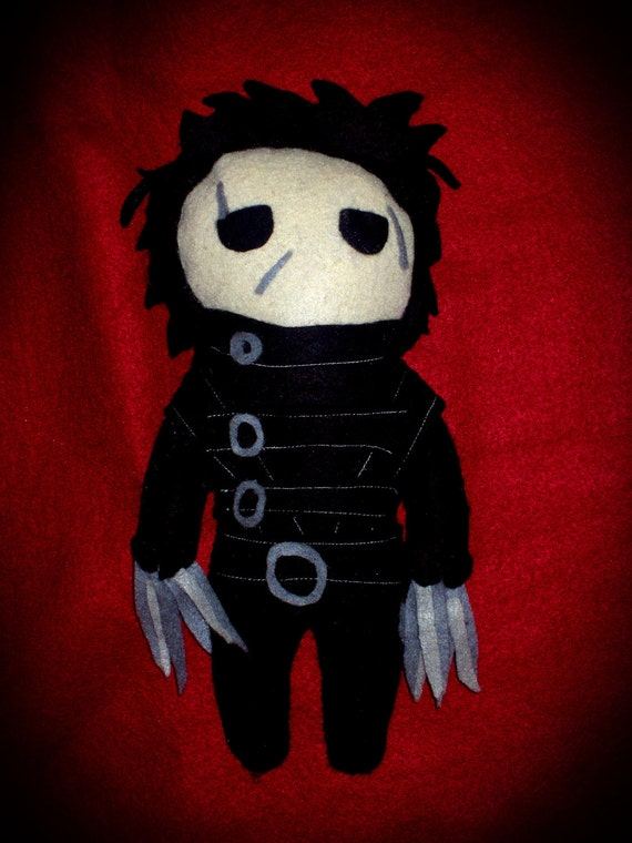 Edward Scissorhands Felt Plush