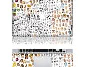 People--mac decal mac stricker mac pro decal mac air decal stickers macbook apple decal apple mac decal apple stickers