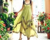 Chiffon dress maxi dress prom dress wedding dress (018)