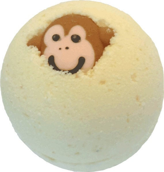 funky monkey bath bomb by mountainmadnesssoap on etsy