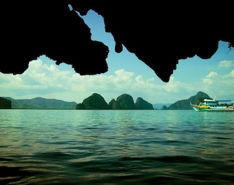 A Boat in Thailand - Photography Print