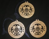 Coast Guard Laser Cut Mirror Hanger / Ornament