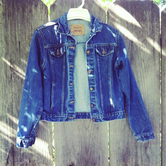 SALE Vintage Levi Strauss denim jacket