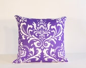 18x18in Purple Designer Pillow Cover (FREE SHIPPING)
