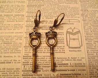 The Royal Key Earrings