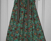 Aqua, Burgandy, Brown Boutique Pillowcase Dress :PC007