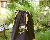 Featuring Georgia Tech Yellow Jackets with Monogram on Front Pillowcase Dress :TD030-1 remaining in size 2t
