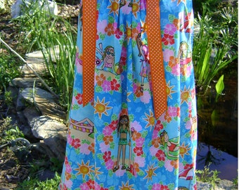 Beach and Best Friends Forever-bff - Pillowcase Dress - Sizes 3 months thru 6/7 :CH005