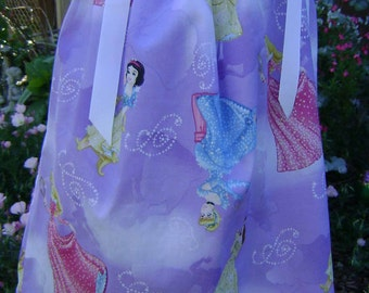 Disney Princess boutique pillowcase dress sizes 3 Months thru 3t-almost out of fabric
