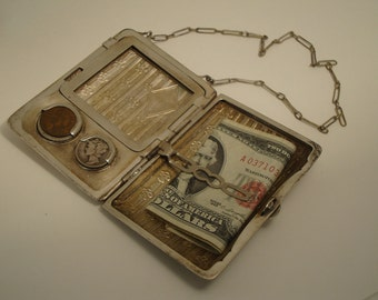 Vintage Change Purse 1910's  Very Retro