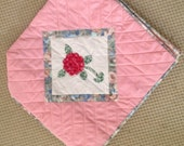 Sewing Machine Cover, Quilted, Padded, Appliqued