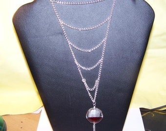 Blood And Ice Necklace