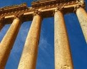 Temple in Baalbeck Lebanon - digital photo download, fine art print