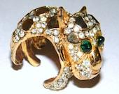 RESERVED for Dawn Marie - Vintage KJL Lion Cub Ring