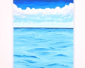 Caribbean Waters - Painting