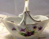 Sweet Violet Porcelain Bowl