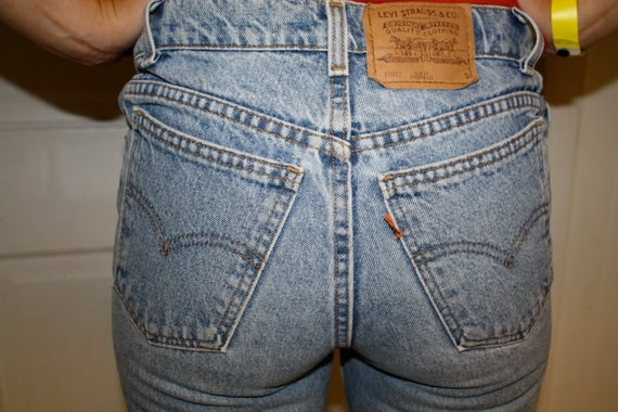 RESERVED FOR AVERY until 6/20 Vintage Levi High Waisted Skinny Jeans 26 Waist