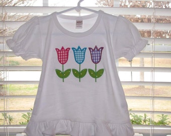 Personalized Tulip Trio Shirt