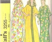 McCalls 3255 Vintage 70's Caftan Pattern One Size