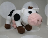 Clara, the cow  (SOLD - This item can be made on demand.)