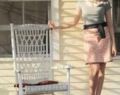 Fashion Summer Pebble Beach Mod Wrap Skirt