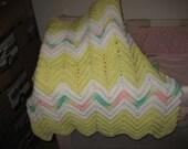 CROCHETED BABY or CRIB Blanket