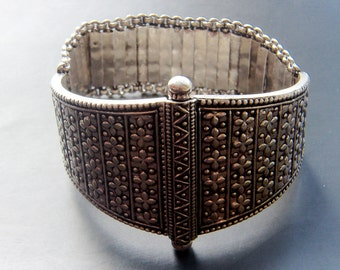 Silver Armor Bracelet