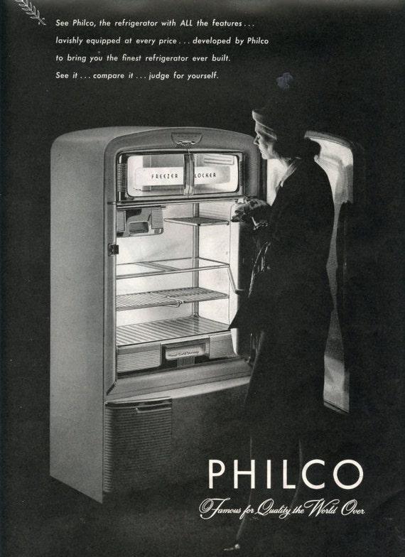1940s Philco Refrigerator Ad
