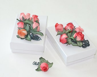 Gift Box Special Offer Set Of 2 Rose Jewelry Wedding