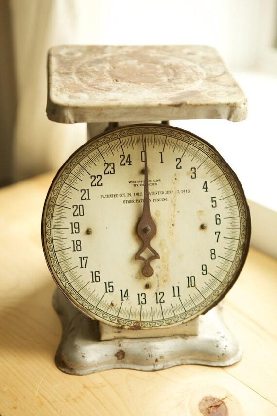 Vintage Baby Newborn Scale Photo Prop RTS