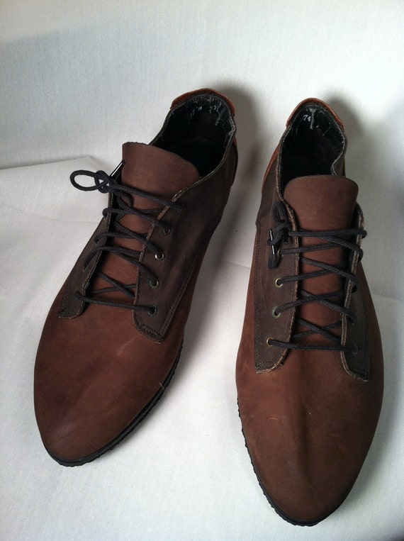 Sale Sale Sale ZODIAC ZAPATO Lace Up 3 Tone Suede Oxford Womens 12/Mens 10