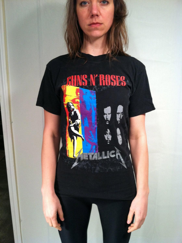 guns n roses metallica: