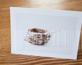 Empty Nest Blank Greeting Card