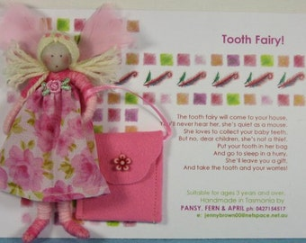 Tooth Fairy Doll Set