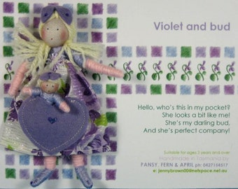 Violet and Bud doll set