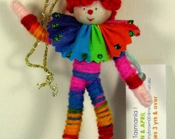 Little clown doll