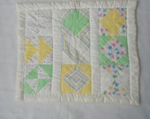 Doll patchwork quilt