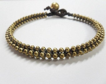 Brass Around Anklet