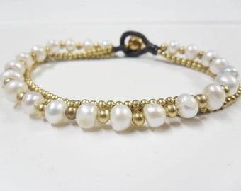Chain pearl Bracelet
